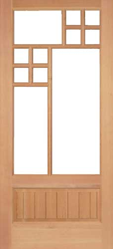 15 Lite Custom French Door